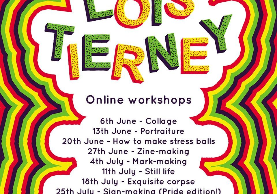 Workshop with Artist and Illustrator Lois Tierney!